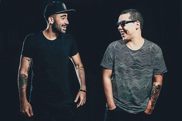 Viotti e Zocrato formam a dupla de DJs/produtores Breaking Beattz