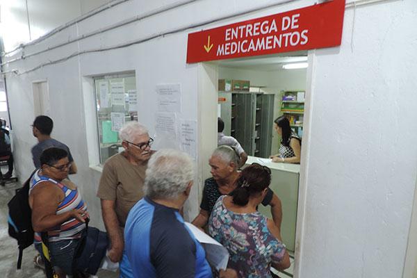 Cerca de 90% das demandas são referentes a medicamentos que constam da lista do SUS mas que nem sempre estão disponíveis para a população na Unicat