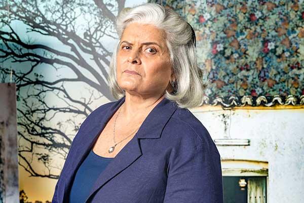 Jussara Freire faz parte do elenco de nova novela da Globo