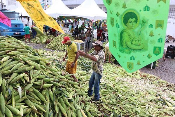 Feira do milho começa na próxima segunda-feira e deve se prolongar até julho