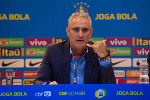 Está dentro de nós mesmos, fazer o nosso melhor, um grande desempenho, para que tenhamos condições de passar essas etapas, Tite Técnico da Seleção Brasileira