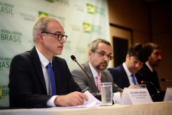 José Daniel Diniz Melo tomou posse como reitor da UFRN em Brasília