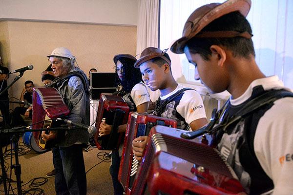 Orquestra Sanfônica do Museu do Vaqueiro participou do lançamento do São João de Natal. A atração também foi escalada e se apresentará no Festival Forraço