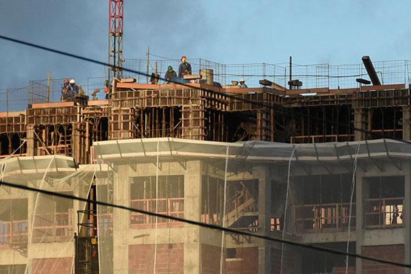 A construção civil recuou 2,0% no 1º trimestre de 2019 em comparação ao quarto do ano passado