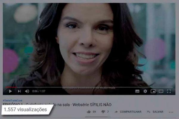 Webserie é uma das peças do contrato e foi orçada em mais de R$ 4 milhões com dez episódios