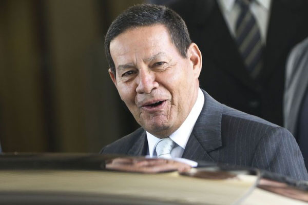 Vice-presidente do Brasil, General Mourão (PRTB)