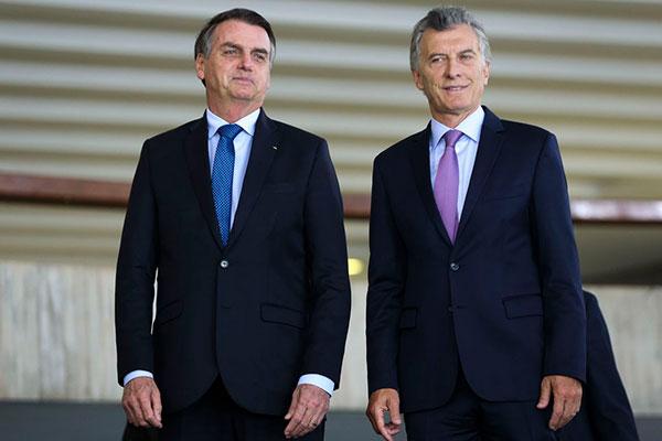 Macri e Bolsonaro