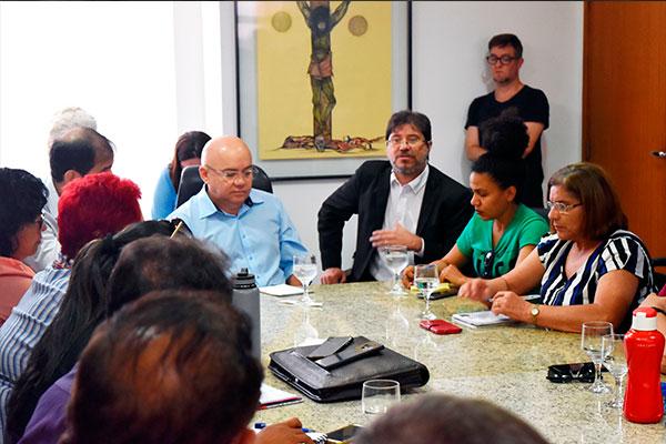 Reunião na Governadoria
