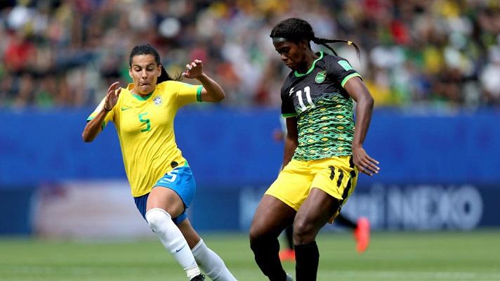 Kadjidja Shaw foi a principal referência técnica do time da Jamaica