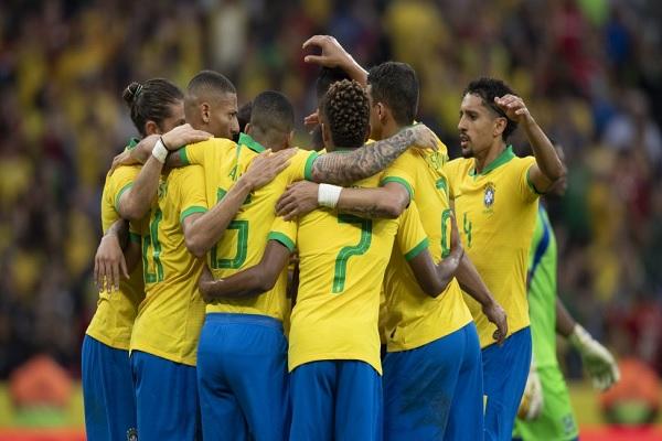 Brasil goleou a seleção de Honduras por 7 a 0 no estádio Beira Rio