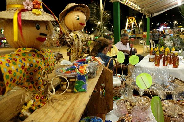 Festival Gastronômico destaca sabores e artigos juninos