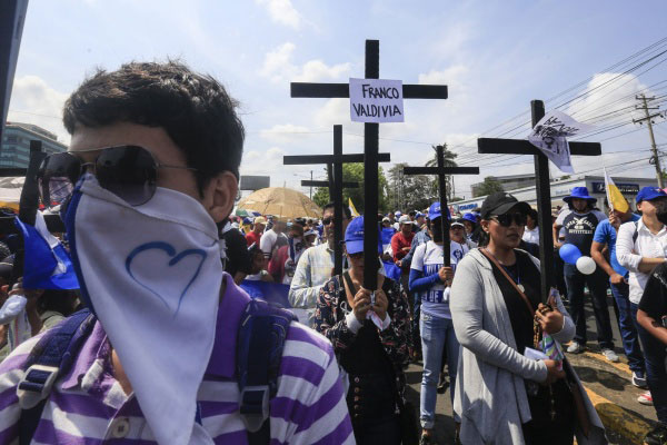 Nicarágua, país da América Central, foi o país que mais piorou no ranking da paz após protestos