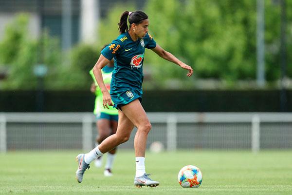 Andressa Alves já jogou na cidade de Montpellier, onde a Seleção Brasileira enfrenta rivais, hoje