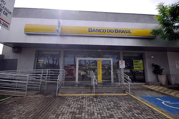 Caixa eletrônico da agência do Banco do Brasil localizada entre a rua Jaguarari e a rua Presidente Bandeira foi alvo de explosão