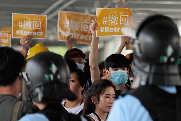 Hong Kong protestos