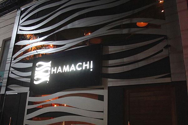 Restaurante  Hamachi vai para Petrópolisem loft charmoso, com varanda para a rua Potengi