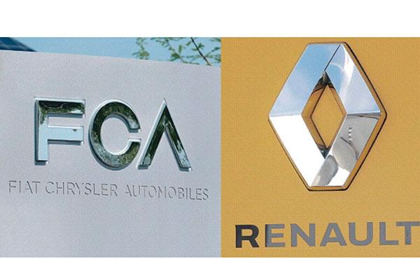 Fusão das empresas FCA e Renault seria muito interessante