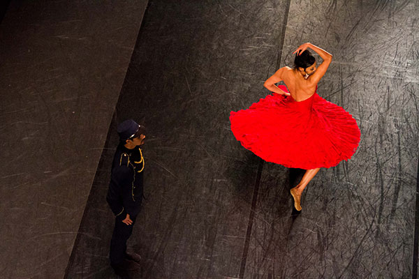 Noite de abertura terá Carmen, espetáculo do Balé Teatro Guaíra, a terceira companhia mais antiga em atividade no país, que em 2019 está completando 50 anos