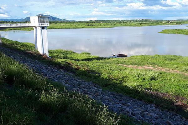 O Itans, no município de Caicó, é um dos reservatórios que figura com quadro mais crítico: com apenas 1,7% de sua capacidade, 1,3 milhão de litros dos 81,7 milhões totais