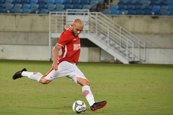 O volante Leandro Melo, do América, é o capitão do time na competição