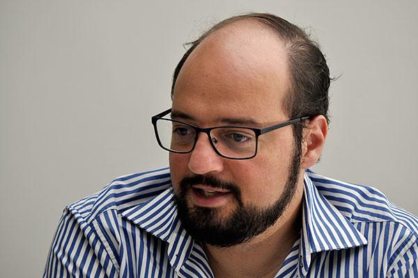 Infectologista André Prudente, diretor do Hosp. Giselda Trigueiro