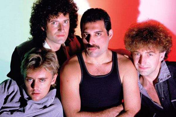 Filme sobre o Queen alavanca venda dos discos da banda britânica