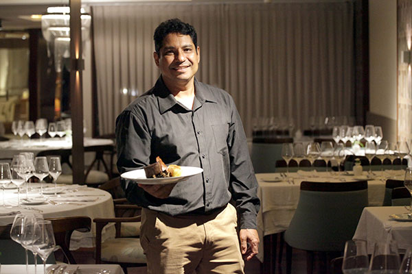 Chef Jomair Moreira aposta no francês moderno