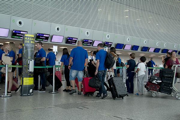São esperados 220 mil passageiros circulando no aeroporto em julho