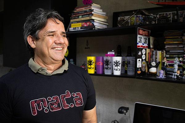 Jormardo Jomas, fundador e produtor do Festival MADA