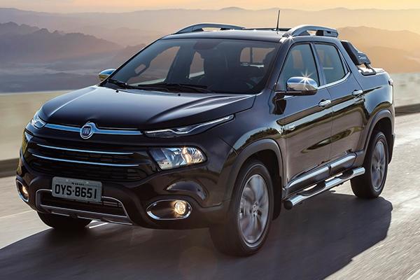 O pick-up Fiat Toro Ranch 2.0 diesel AT9, tração 4x4, é a versão topo de linha da gama. Custa R$ 159.990,00