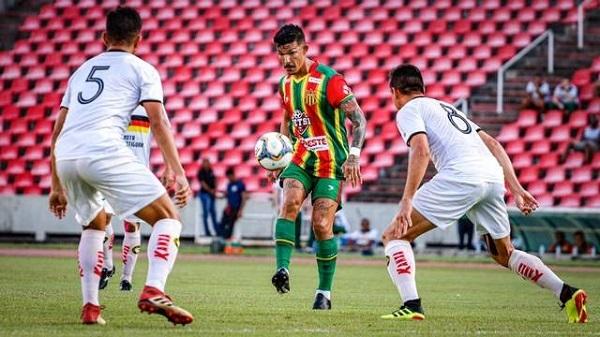 Rodrigo Andrade foi o nome do jogo entre Sampaio e  Globo-RN