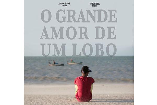 Cartaz do curta que conta a história de um jovem que faz da realidade seu próprio filme em busca do amor