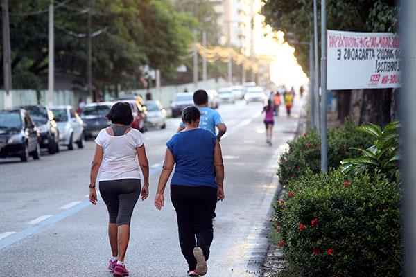Apesar dos índices de obesidade, o percentual de pessoas que praticam atividades físicas também aumentou 25,7% no Brasil