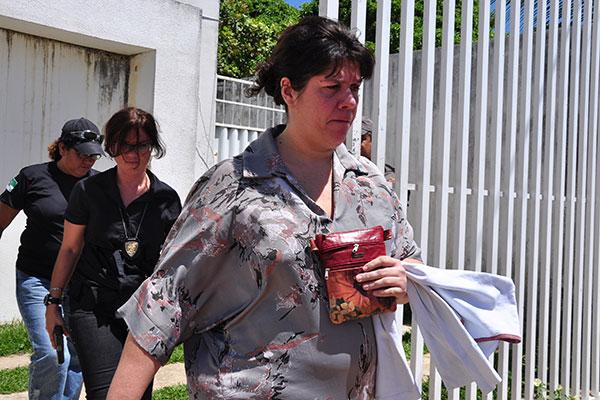 Carla Ubarana, presa em 2012, nas diligências da Operação Judas, cumpria pena no Complexo João Chaves