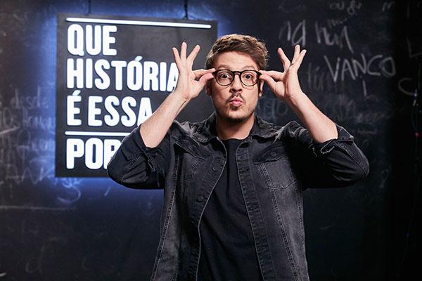 Fábio Porchat estreia no GNT com novo programa