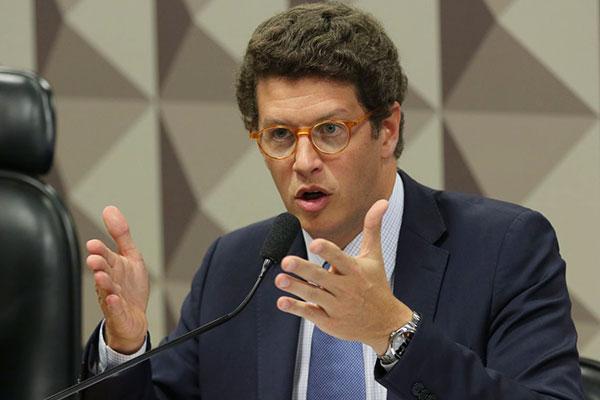Ministro do Meio Ambiente, Ricardo Salles, tentou mitigar polêmica relativa aos dados e acabou se envolvendo em discussão
