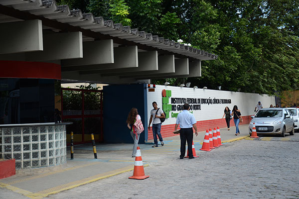 No IFRN algumas funções afetadas pelo decreto têm remuneração de R$ 270,83