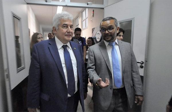 Ministro Marcos Pontes esteve com membros do LAIS para discutir parcerias