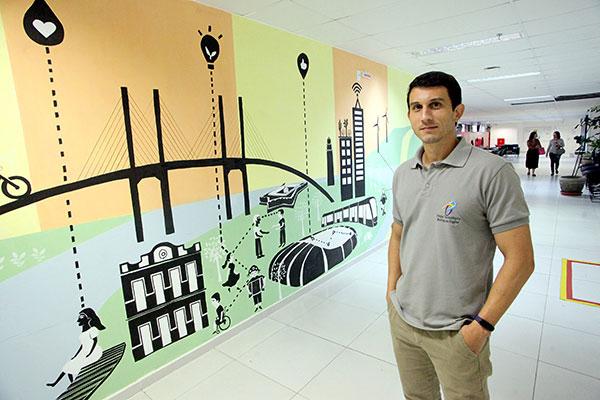 Diretor-geral do Parque Tecnológico, Anderson Paiva Cruz, destaca pioneirismo da instituição no Rio Grande do Norte e no Brasil