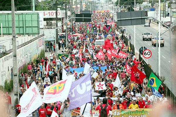 Este ano, outros protestos foram realizados em Natal, acompanhando pauta nacional, contra o contingenciamento na educação