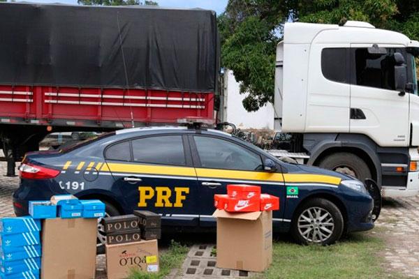 Operação foi realizada pela Polícia Rodoviária Federal