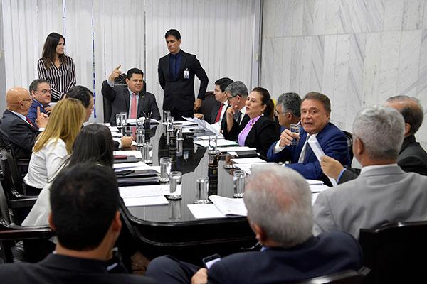 Presidente do Senado, Davi Alcolumbre reúne os líderes de bancada e define o cronograma