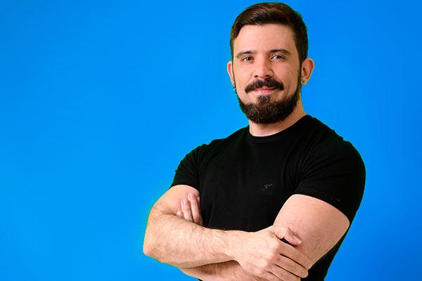 Célio Ricardo, fotógrafo e professor