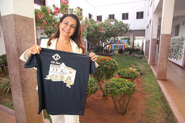 Márcia Marinho, presidente da Associação, fala sobre a programação das comemorações