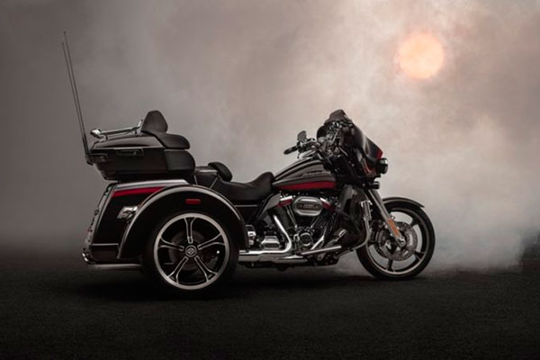 O triciclo desenvolvido pela Harley-Davidson é um belo produto, fadado a lograr um sucesso exuberante