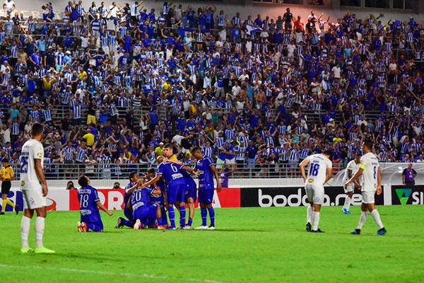 Com sabor de vitória, CSA empata partida com gol no final diante do Cruzeiro, em Maceió