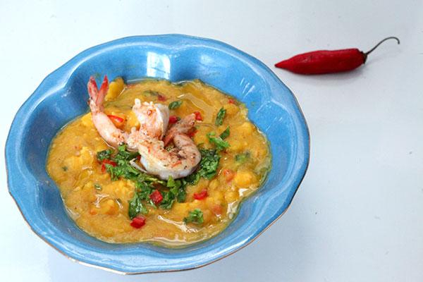 O cardápio da Babalu Deli dá preferência aos pratos a base de crustáceos