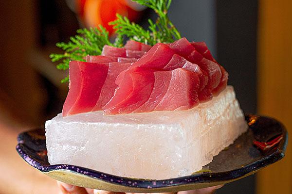 Usuzukuri de salmão, tipo de carpaccio japonês