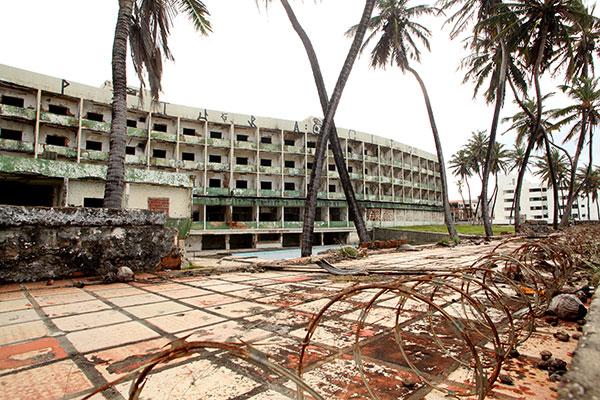 Definição sobre tombamento do hotel depende agora de parecer do governo do Estado