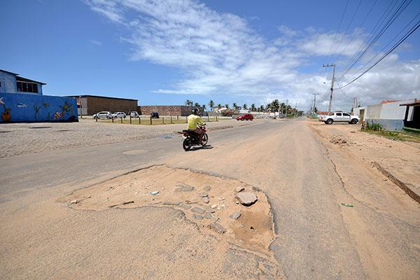 RN 302 , no litoral norte potiguar, é uma das estradas que receberão melhorias este ano